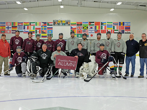 Annual Alumni Hockey Game