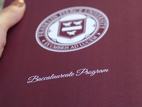 Watch the livestream of the Baccalaureate Program 2021.