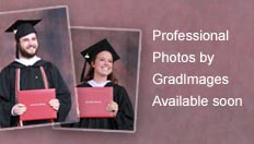 Graduates with text, professional photos by Gradimages