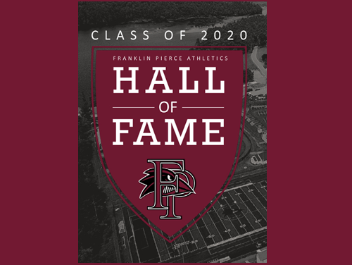 Selected last summer, but delayed by the pandemic, the Franklin Pierce University Department of Athletics is pleased to finally announce its 2020 Hall of Fame class, which features three inductees, including a pair of former All-Americans. The 2020 class will join the 2021 Hall of Fame class, to be selected this summer, for a joint induction weekend, to be held on Oct. 1-2. The formal induction will take place at a private social on Friday night, Oct. 1. The two classes will then be honored publicly on Saturday, in conjunction with the Oct. 2 football game against Assumption.