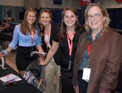 Members of Pierce Media Group with Dr. Kristin Nevious