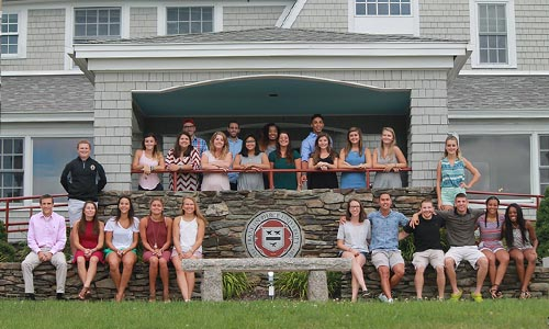 Rindge students at the Manor seal