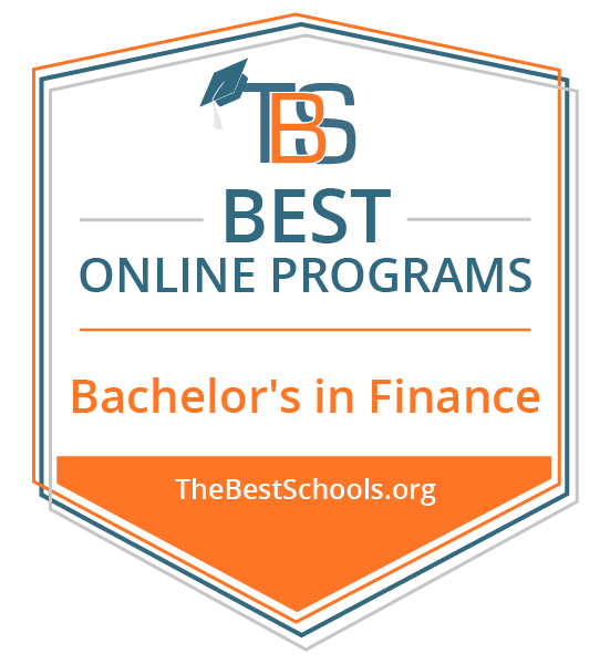 Best Online Bachelors in Finance, rated by thebestschools.org