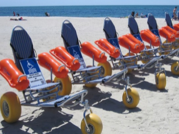 Doctor of Physical Therapy Students raise Funds for Beach Wheelchairs