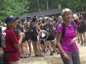 Student-produced video captures NEA Big Read literary Grand Monadnock climb