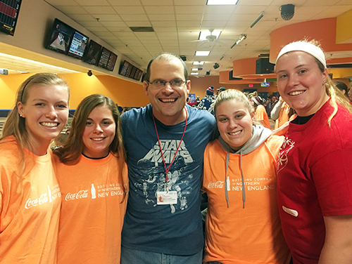 Ravens Assist with Special Olympics State Bowling Tournament