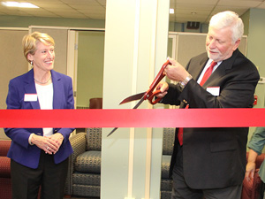 Re-dedication of The Lloyd & Helen Ament Astmann '69 Career Center