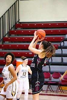Raven Women's Basketball Player Jemma Thacker '18