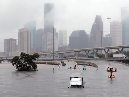 Hurricane Harvey displacement
