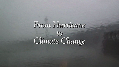 "After a successful year of screenings, ""From Hurricane to Climate Change,"" will air on New Hampshire Public Television (NHPTV) this week. NHPTV will also make the film available for streaming and VOD (Video on Demand) for Comcast and other distributors."