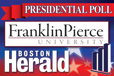 Franklin Pierce University/Boston Herald Poll Hillary Clinton maintains narrow lead over Donald Trump