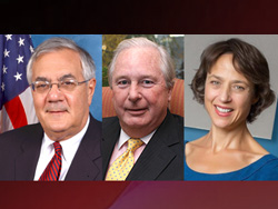 Franklin Pierce University will award honorary degrees and The Honorable Walter R. Peterson Citizen Leader Award.