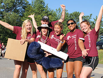 Franklin Pierce Welcomes Record Size Incoming Class