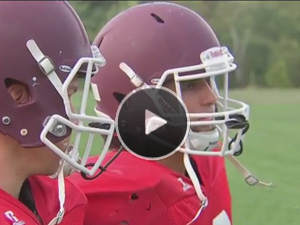 Fox 25 Boston: Size isn't an issue to play football at Franklin Pierce